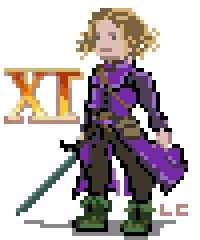 Pixel Art Dragon Quest XI