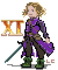 Pixel Art Dragon Quest XI